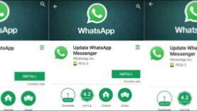 La app del Whatsapp Falso que tiene mas de un 1 millón de descargas.