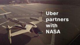 Uber se asocia con la NASA para volar taxis (Ingles).