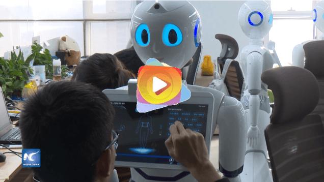 Un robot de fabricación china obtuvo