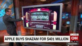 Apple compra Shazam por $ 401 millones (Ingles).
