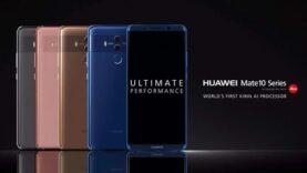 El primer smartphone con inteligencia artificial – Huawei Mate 10.