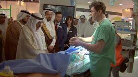 Los avances de la impresión en 3D en el Foro Árabe de la Salud.