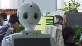 Un robot de fabricación china obtuvo una alta puntuación en el examen escrito para la cualificación médica.