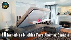 10 Increíbles Muebles Para Ahorrar Espacio.
