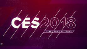 CES 2018: Día de conferencia de prensa.