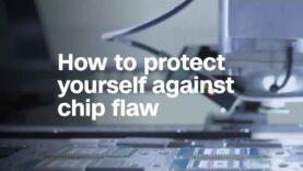 Cómo protegerse contra el defecto del chip (Ingles).