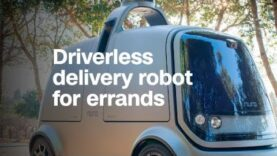 Ex-Googlers make delivery robot for errands.