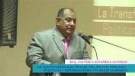 La transformación digital en el estado peruano.