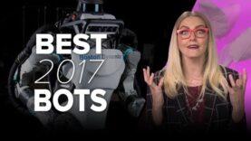 Los mejores robots del año 2017.