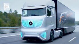 Nuevos camiones del futuro.