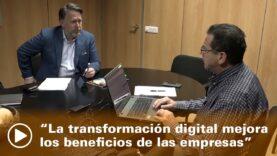 La transformación digital mejora los beneficios de las empresas.