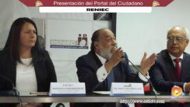 Presentación del Portal del Ciudadano – RENIEC.