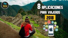 8 Apps para viajeros 2018.