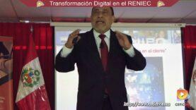 La Transformación Digital en la RENIEC – Exposición.