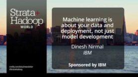 Machine Learning trata de datos e implementación.