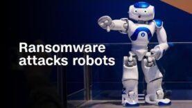Mire este robot ser atacado por ransomware.