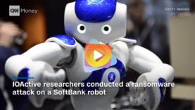 robot atacado
