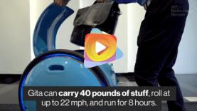 robot que lleva tu equipague