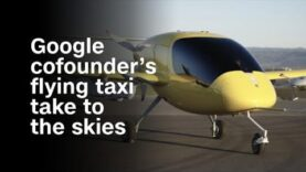 Vea el vuelo del taxi volador del fundador de Google en los cielos.