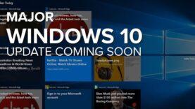 Actualización de Windows 10 de primavera el 30 de abril.