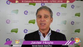 Entrevista: Javier Hoyle Gerente General de Everis Perú, sobre los premios Everis 2018.