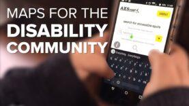 Mejores mapas para la comunidad de personas con discapacidad.