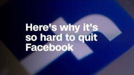 Veremos por qué dejar Facebook es tan difícil.