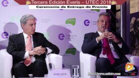 Ceremonia de Premiación Everis – UTEC 2018, en su tercera Edición.