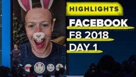 Conferencia anual de Facebook para desarrolladores (F8).