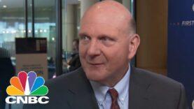 El ex CEO de Microsoft Steve Ballmer: ahora hay problemas reales en la tecnología.
