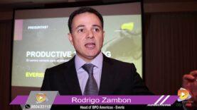 Entrevista: Rodrigo Zambon Head of BPO Amerícas de Everis sobre el pensamiento productivo.
