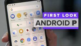 Primer vistazo: Android P.