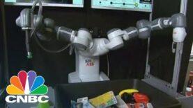 Robots en aumento en TechCrunch Summit.
