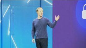 """Zuckerberg está """"casi en una gira de relaciones públicas""""."""