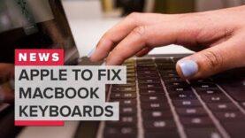 Apple arreglará algunos teclados MacBook gratis.