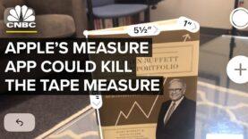 La aplicación de medidas de Apple podría matar a la cinta métrica.