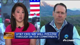 El presidente ejecutivo de AT & T Randall Stephenson: la apelación del DOJ no cambia nada.