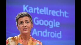 La Comisión Europea impone a Google la mayor multa de su historia.