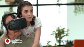 La sorpresa de la realidad virtual para los de la tercera edad.