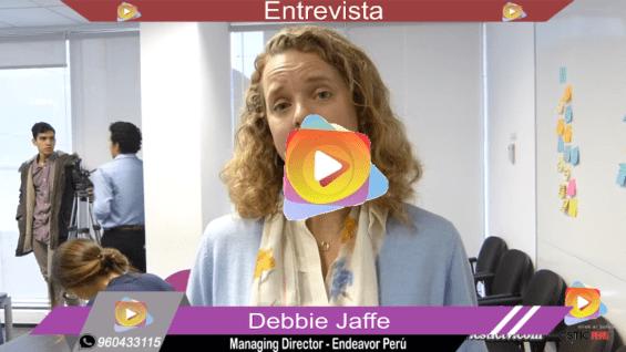 Entrevista a los ejecutivos de Endeavor y Everis Perú.
