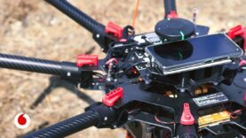 4G e inteligencia artificial para controlar el vuelo de drones.