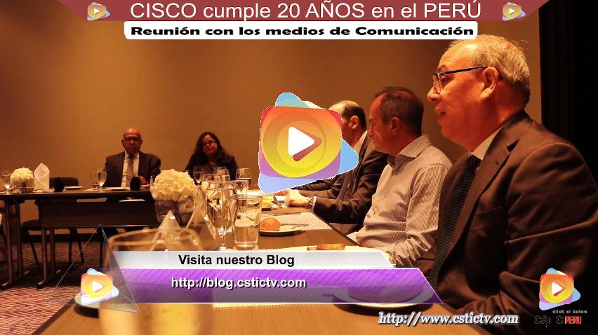 CISCO cumple 20 AÑOS en el PERÚ.