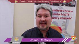 Entrevista al Organizador y Expositores del 8.8 Compute Security Conference en Perú.