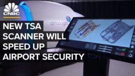 Este nuevo escáner podría acelerar la seguridad del aeropuerto.