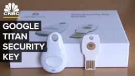 Explicación de la clave de seguridad de Titan de Google.
