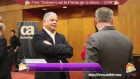 Foro: Gobierno en la palma de la mano (GPM) – CA Technologies Perú.