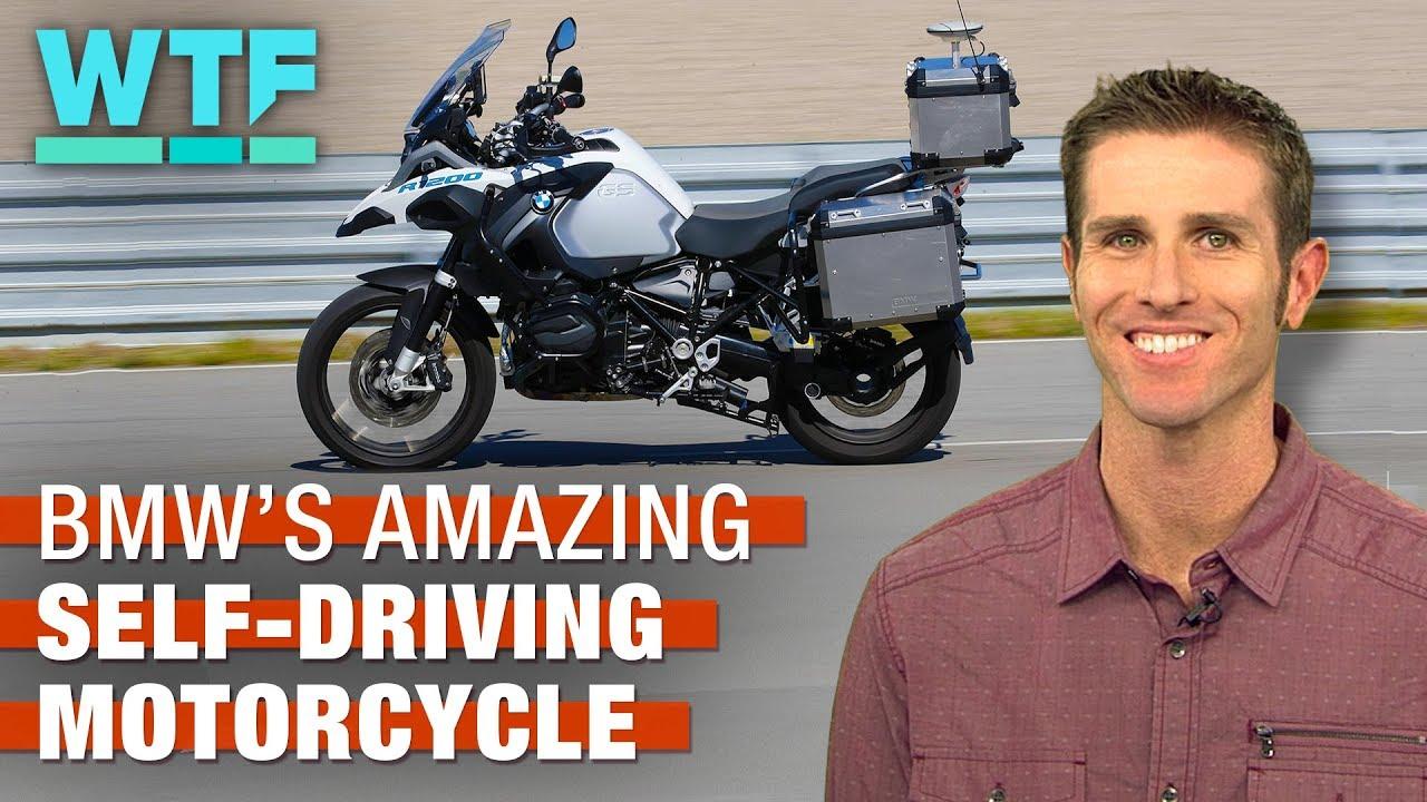La increíble motocicleta autodirigida de BMW.
