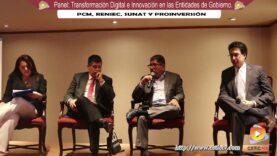 Panel: Transformación Digital e Innovación en las Entidades del Gobierno Peruano.