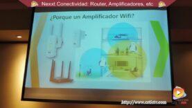 Router y Amplificadores Nexxt.