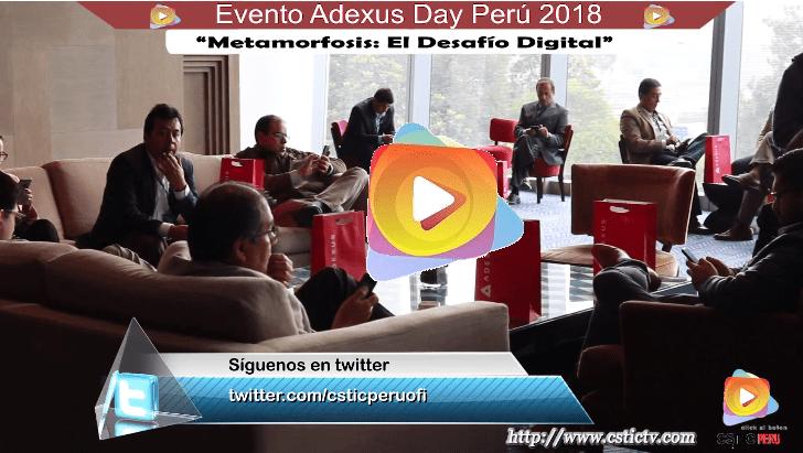 Metamorfosis: El Desafío Digital - Adexus Day Perú 2018.